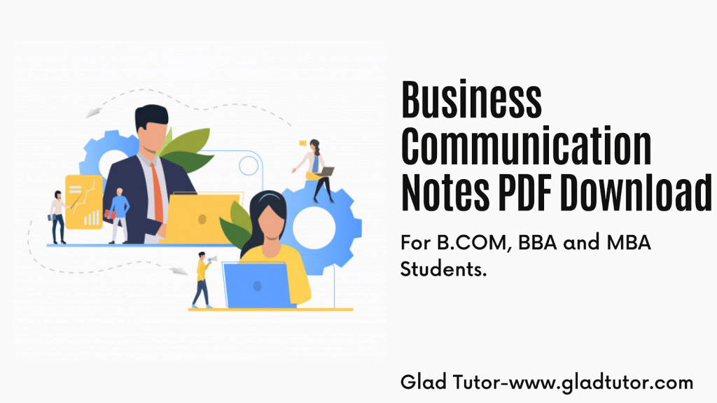 Business Communication Notes PDF Download